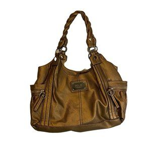 Relic Bronze Vegan Leather Satchel